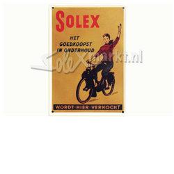 Solex Sign Plate - 10cm.x15cm.