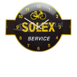 Solex emaille clock - (53x40cm)