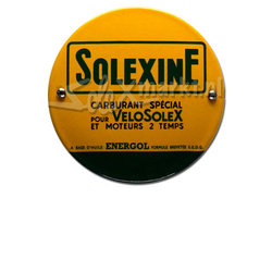 Solexine emaille plate - (10cm)