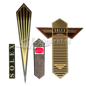Stickerset Solex Oto - Gold
