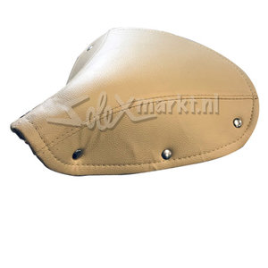 Saddle cover France Solex - Brown / Beige