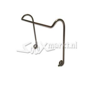 Attachment Spring/Clip for Crash bar of the Dutch Solex