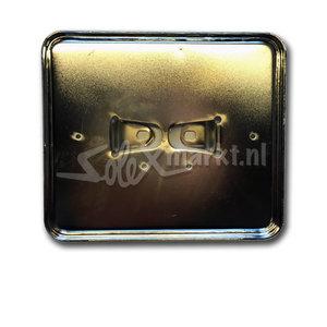 License plate holder (Dutch) Chrome - Wide model