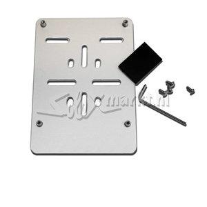 License plate holder (Belgium and German ) aluminum