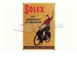 Solex Sign Plate - 20cm.x30cm.