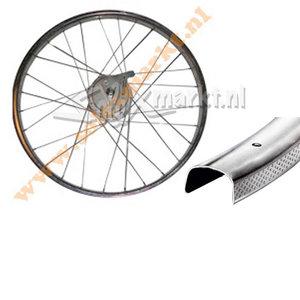 Solex Rearwheel (Rear hub) 19'' - Complete spoked - Flat Rim