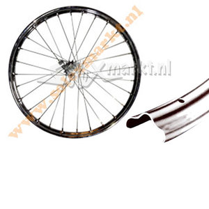 Solex Rearwheel (Coaster brake) 19'' - Complete spoked - (with uplift)