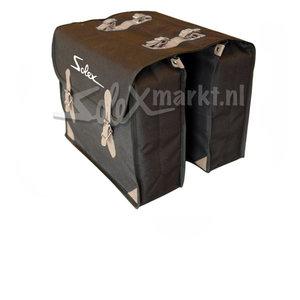 Solex bag (black) with print ''Solex''