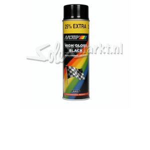 Aerosol paint - High gloss black