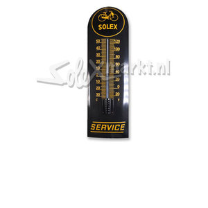 Solex emaille thermometer - (22x75cm)